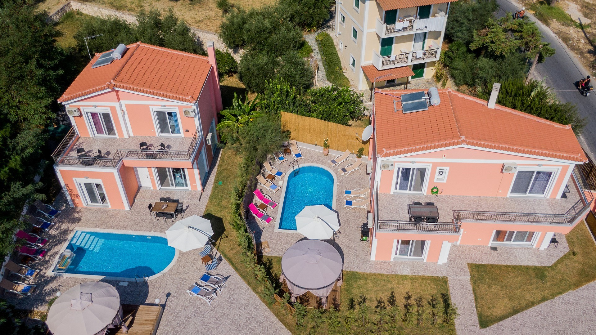 Villa Danae 1 & 2 Zante Zakynthos Greece