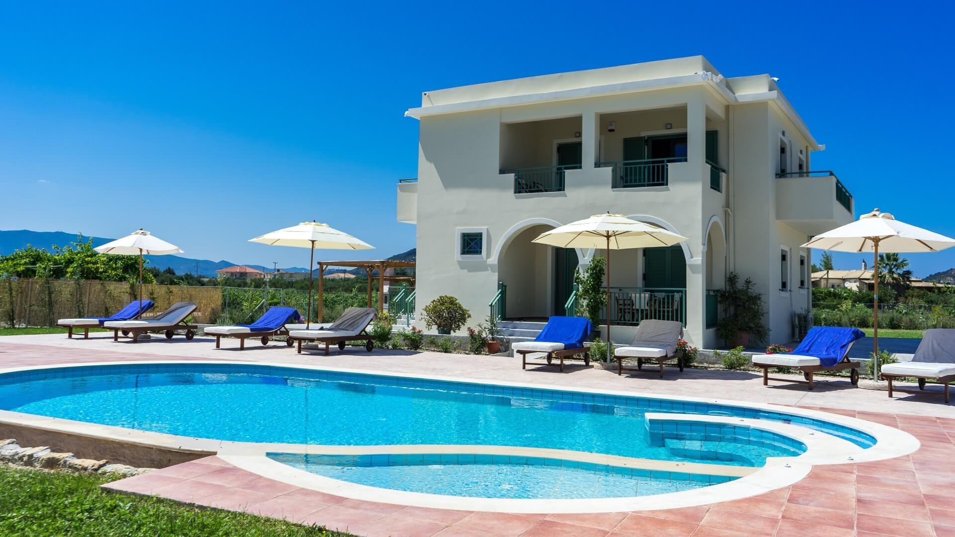 Villa Kampos Zante Zakynthos Greece