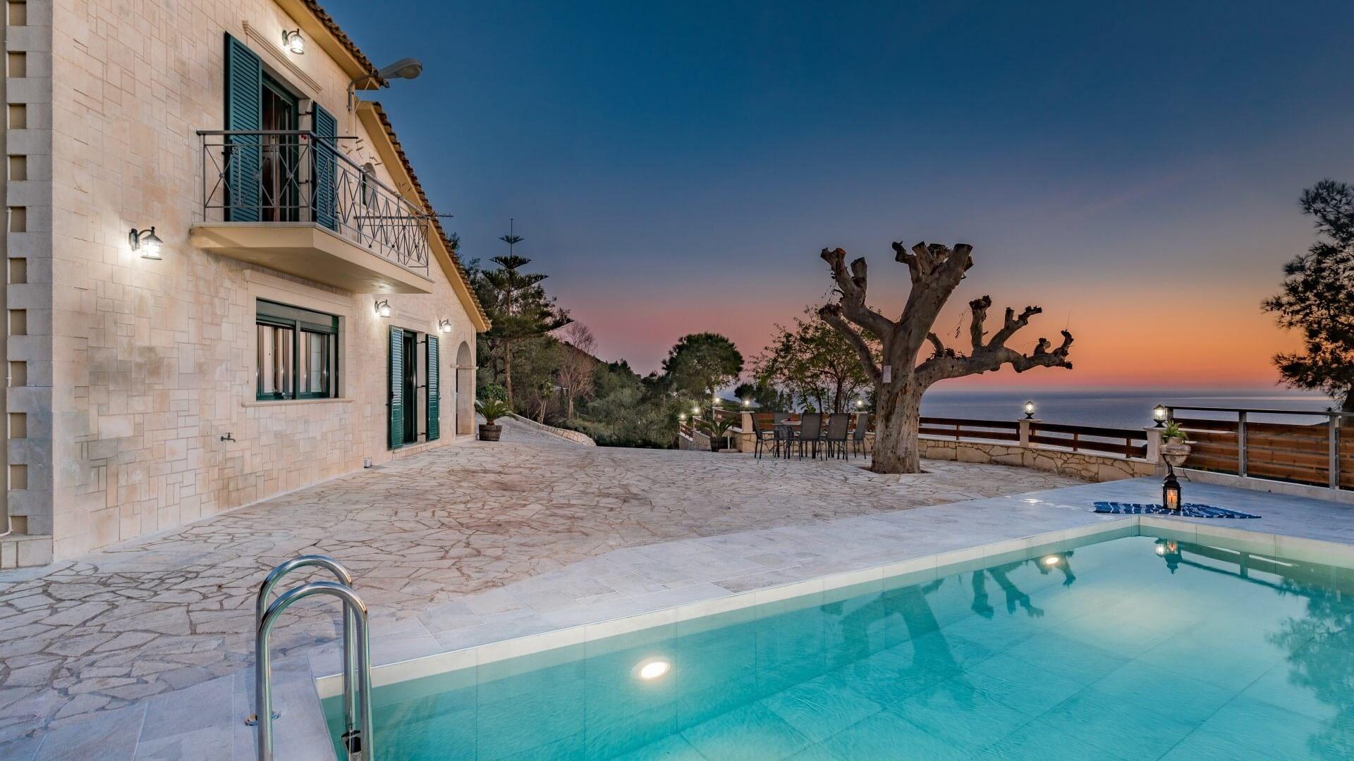 Villa Kanalos Zante Zakynthos Greece
