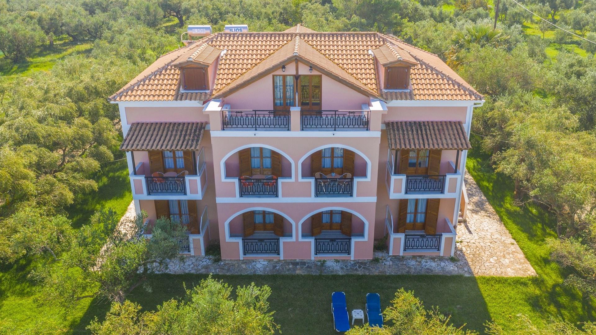 Kavos Psarou Studios & Apartments Zante Zakynthos Greece