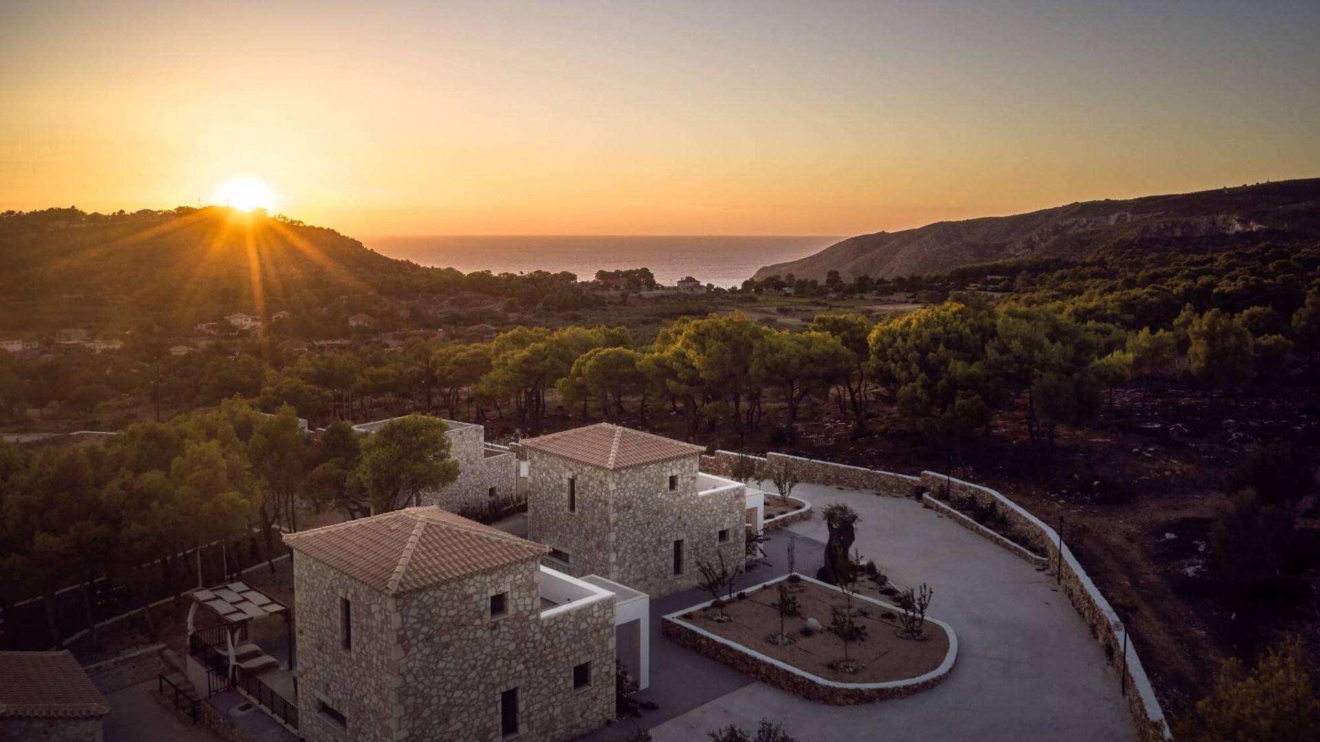 Tramonto di Roccia Villas Zante Zakynthos Greece