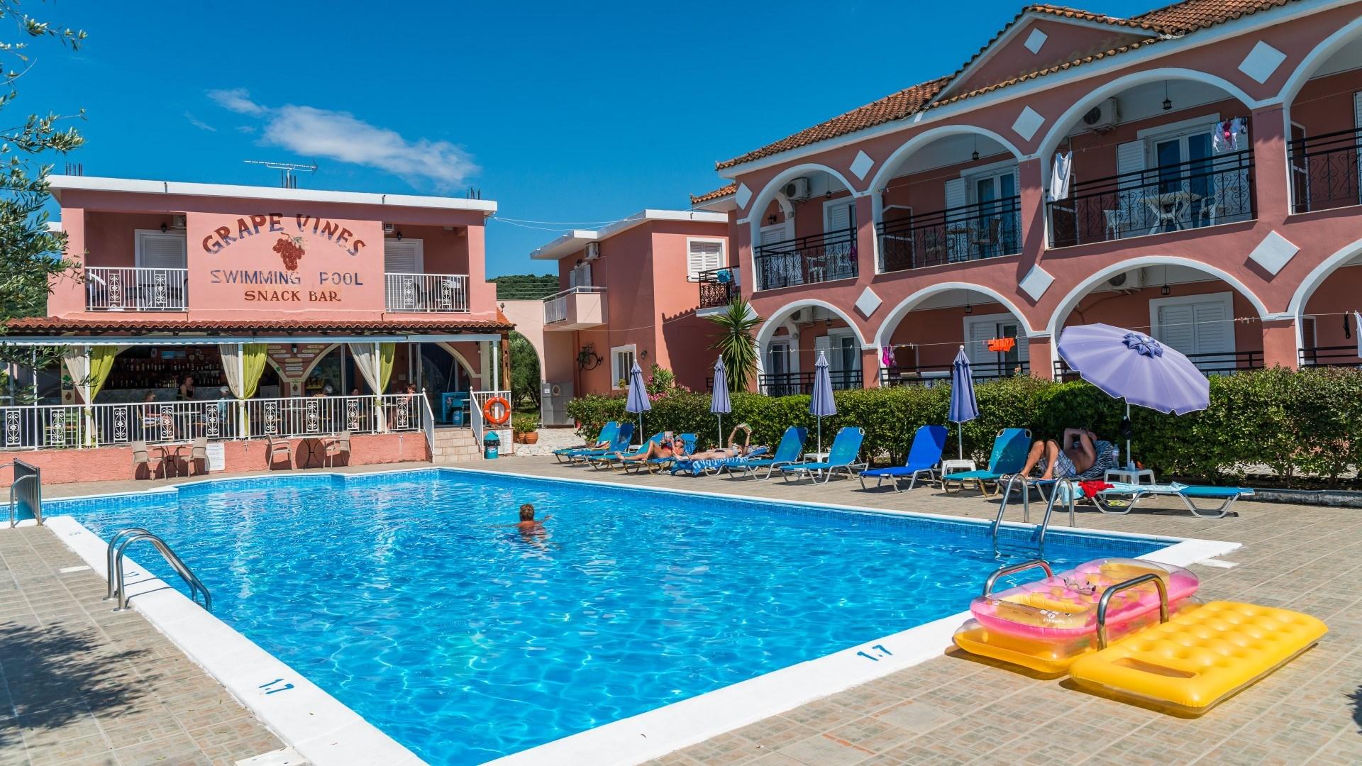 Grapevines Hotel Zante Zakynthos Greece