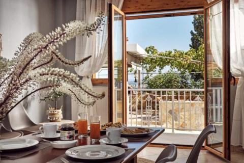Lithakia Balcony Villa Holidays in Zakynthos Greece