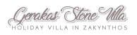 Gerakas Stone Villa zakynthos Greece